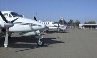 General aviation ramp