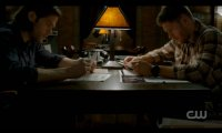 Sam and Dean Researching