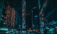 Rainy Cyberpunk Apartment
