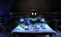 Snape's potion class