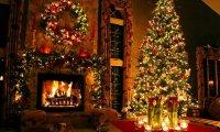 Christmas Night Fireside