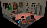 dave's apartment from homestuck