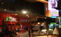 Quiet jazz bar