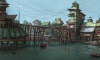 bawic small scifi town dock