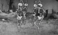 But Spooky Scary Skeletons plays once an hour