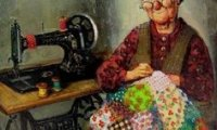 Memories of afternoons in grandma's sewing room