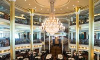 The Dining Hall of a Cruise Ship