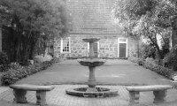 Poe Museum Garden at Dusk