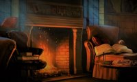 Stormy Night in the Gryffindor Common Room