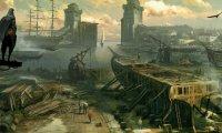Venturing through the docks