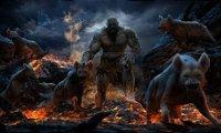 Fantasy Orc Camp