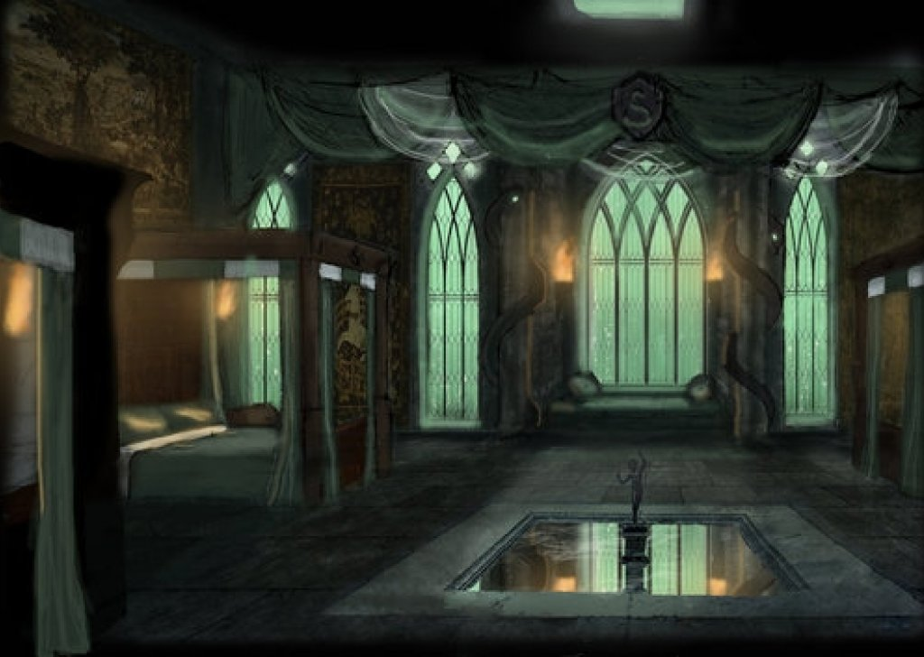 Slytherin Dorm At Night Audio Atmosphere