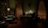 Rainy night in the living room of 221B