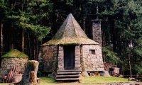Hagrid's Hut in Fall