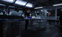 Working with FitzSimmons in the lab