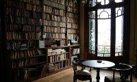 Rainy Day Library of Hogwarts