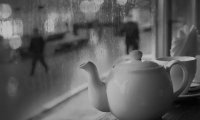 Tea and Jazz on a Rainy Day
