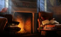Rain and fire and books