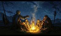 D&D - Campfire - Night