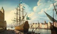 Various sounds for an high-fantasy port scene
