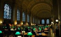 Reading Room at Boston Public Library
