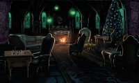 Slytherin Dorm - Sleep and Study