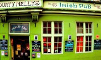 A concert at an Irish Pub
