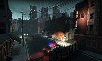 The empty, rainy streets of Left 4 Dead