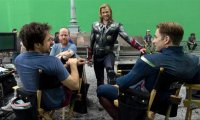 Avengers relaxing