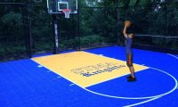 me on a basketball court