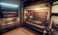 Sci-Fi City Sleeping Quarters