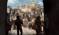 Camelot's central marketplace