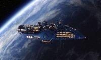 Enjoy the luxury of a starship cruise!