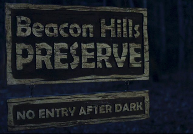 beacon hills preserve at night audio atmosphere
