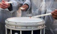 Drums, Rain, Binaural Hum