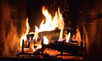 http://www.ambient-mixer.comSleeping by the fireplace with a man and a cat