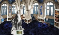 Ravenclaw Common Room - Studying in Midwinter