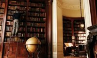 http://www.ambient-mixer.comThe Baudelaire mansion library before the tragic fire