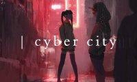 street in cyber city