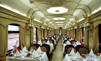 Siberian Express Dining Car