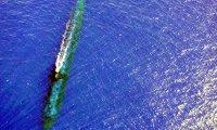 Submarine background atmosphere.