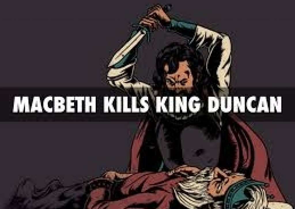 compare the murder of king duncan to the murder of banquo 2018-06-08  unlike his sources, shakespeare gives banquo no role in the king's murder, making it a deed committed solely by macbeth and his wife  king duncan describes the manner in which macbeth, thane of glamis, and banquo,.