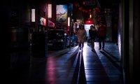 Cyberpunk China Town at Night