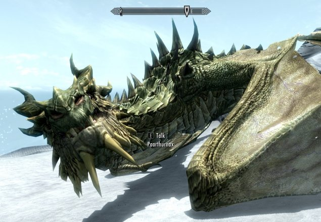 Chilling With Paarthurnax Audio Atmosphere