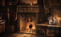 Morning Tea at Hagrid's Hut