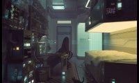 Quiet Space Ship Room