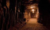The gloomy  Mine entrance
