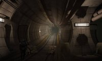 Fo4- Inside an abandoned subway tunnel