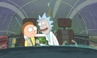 Riding with Rick Sanchez in his Spaceship Made of Junk